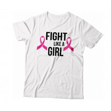 Apparel - Breast Cancer Fight Like A Girl T-Shirt