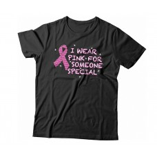 Apparel - Breast Cancer I Wear Pink For Someone Special T-Shirt