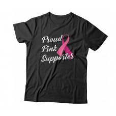 Apparel - Breast Cancer Proud Pink Supporter T-Shirt