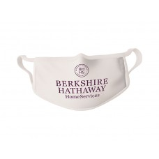 COVID-19 Face Mask BERKSHIRE HATHAWAY HomeServices - Sold in packages of 5 masks per package