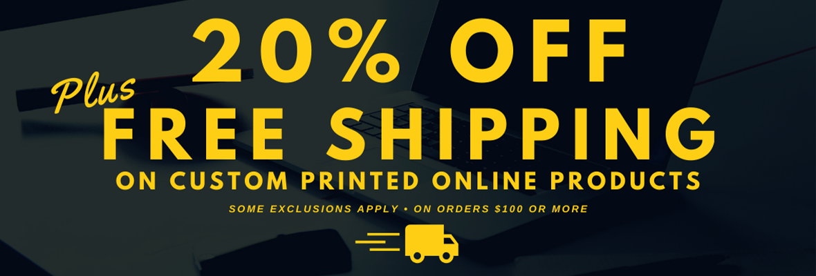 20% OFF Free Shipping