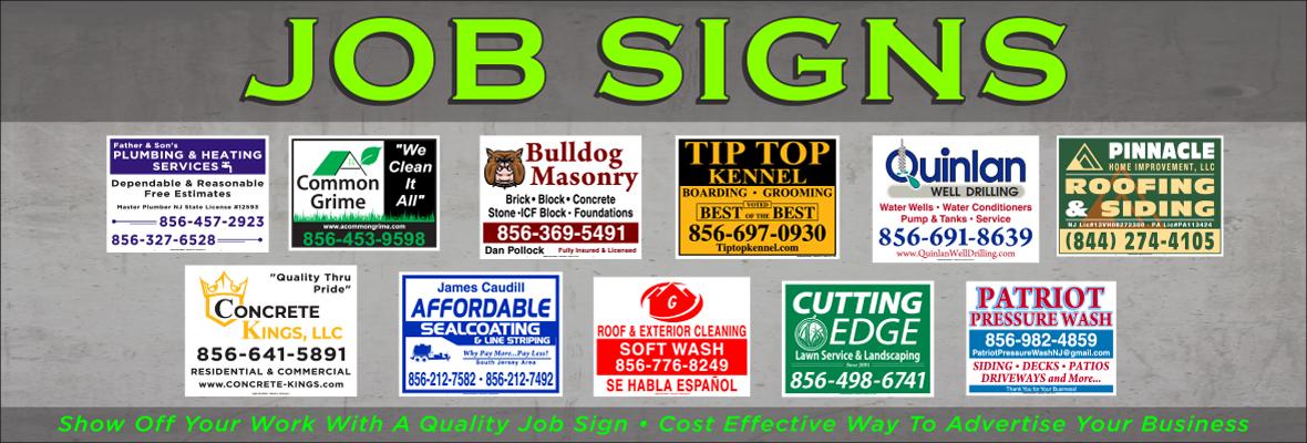 Job Signs