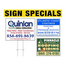 Cheap Lawn Sign Packages