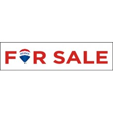 Rider - RE/MAX For Sale Balloon with Double Sided Print