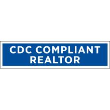 Rider - CDC Compliant Realtor