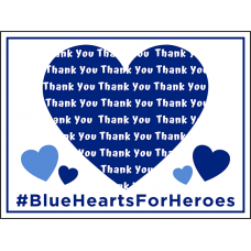 COVID-19 - BLUE HEART FOR HEROES
