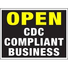COVID-19 - OPEN CDC COMPLIANT
