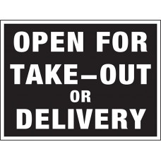 COVID-19 - TAKE OUT DELIVERY