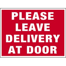 COVID-19 - DELIVERY AT DOOR