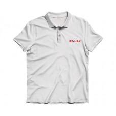 Apparel - RE/MAX Embroidered White Polo