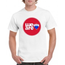Apparel - RE/MAX We Are Red Circle White T-Shirt