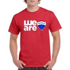 Apparel - RE/MAX We Are on Red T-Shirt