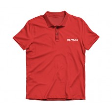 Apparel - RE/MAX Embroidered Red Polo