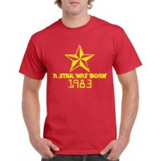 Apparel - Stock Design - Age - A Star Was Born - Red/Yellow