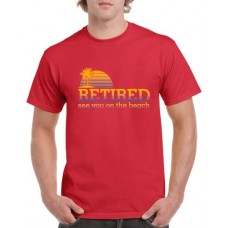 Apparel - Stock Design - See You On The Beach - Red/Color