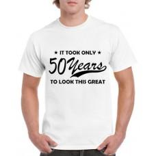 Apparel - Stock Design Age - Took 50 Years - White/Black