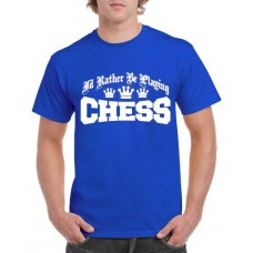 Apparel - Stock Design - Rather Be Playing Chess - Blue/White