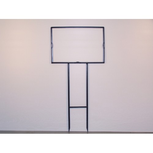 """12x18 Black 1/2"""" Angle Directional Frame for All Materials"""