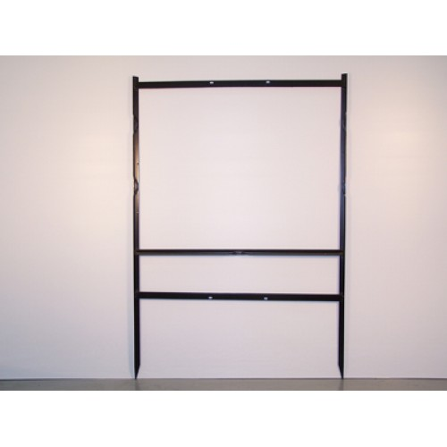 """24x24 Black 3/4"""" Angle Super Frame for All Materials"""