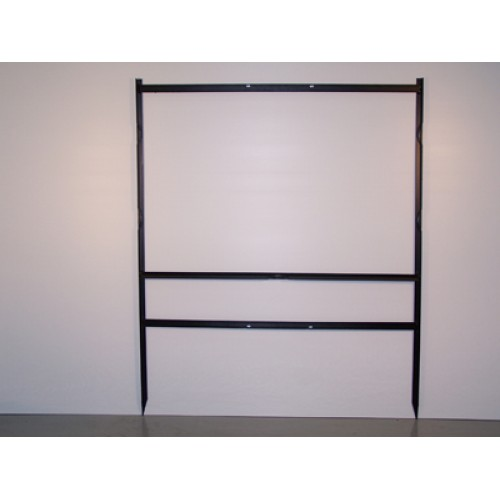 """24x36 Black 3/4"""" Angle Super Frame for All Materials"""