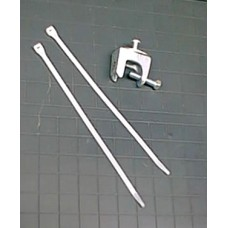 "Hardware - Lit Box 3/4"" Angle Clamp Kit (1 Clamp & 2 Ties)"
