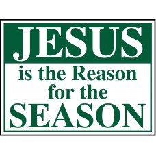 Christmas Lawn Sign - 18x24 Style A
